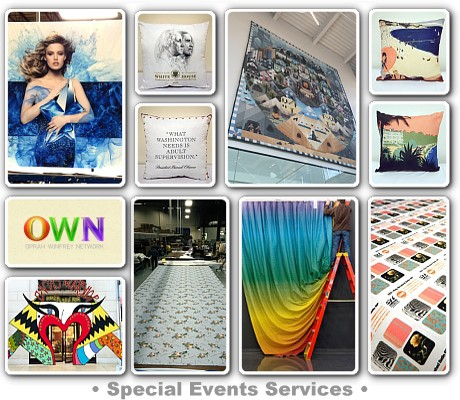 Events Special Events Services Creative & Production Services for Art Installations, Trade Shows, Advertising, Private & Public Relations Events.Contact Us Today!